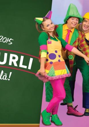 Gașca Zurli dă tonul distracției înainte de școală