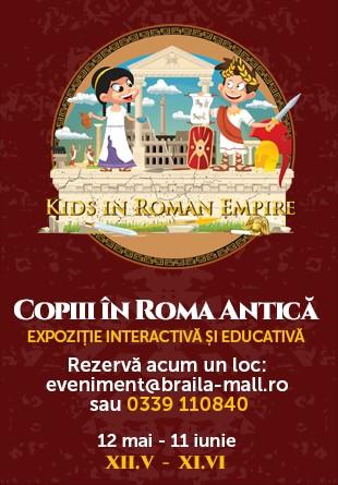 Copiii cuceresc Roma Antică!