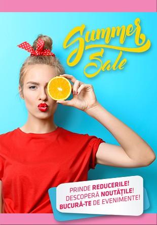 SUMMER SALE: Acceptă provocarea Brăila Mall!